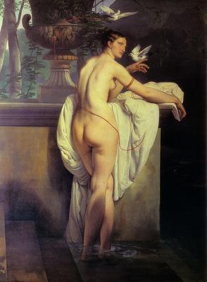 FrancescoHayez VenusPlayingWithTwoDoves1830Large