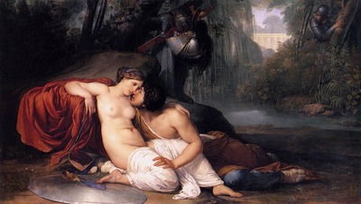 HAYEZ Francesco Rinaldo And Armida