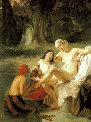 Hayez Francesco 1834 italia romanticismo