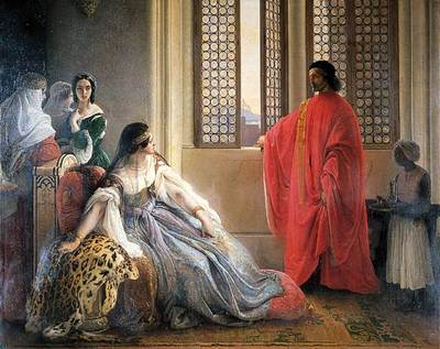 Hayez Francesco Caterina Cornaro Deposed from the Throne of Cyprus