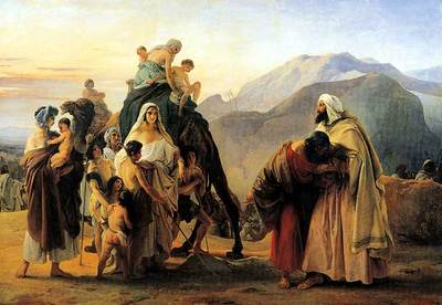 Hayez Francesco Jacob and Esau