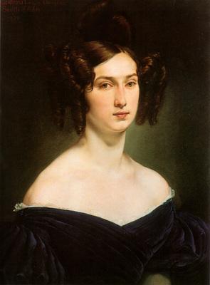 hayez francesco ritratto della contessa luigia douglas scotti d adda