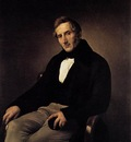 HAYEZ Francesco Portrait Of Alessandro Manzoni