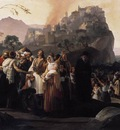 HAYEZ Francesco The Refugees Of Parga