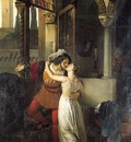 Hayez Francesco The Last Kiss of Romeo and Juliet
