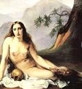 Hayez Francesco The Penitent Magdalene