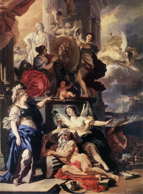 SOLIMENA Francesco Allegory Of Reign