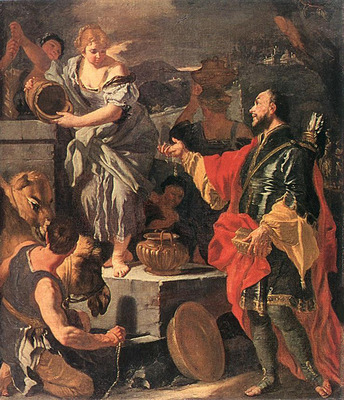 SOLIMENA Francesco Rebecca At The Well