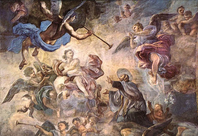 SOLIMENA Francesco Saint Cajetan Appeasing Divine Anger