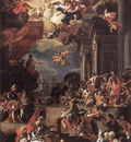 SOLIMENA Francesco The Massacre Of The Giustiniani At Chios