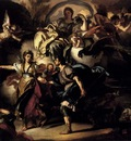 Solimena Francesco The Royal Hunt Of Dido And Aeneas