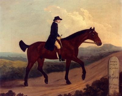 Sartorius Francis A Horseman On The Road To Bagshot