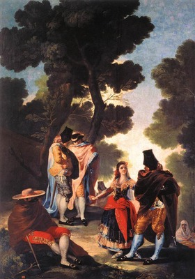 GOYA Francisco de A Walk in Andalusia