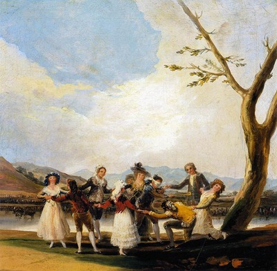 GOYA Francisco de Blind Mans Buff