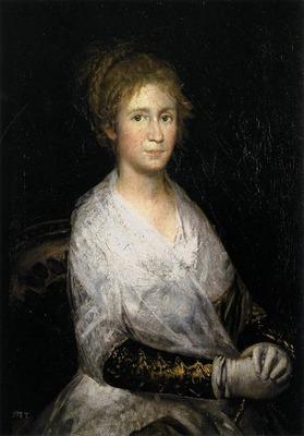 GOYA Francisco de Josefa Bayeu or Leocadia Weiss