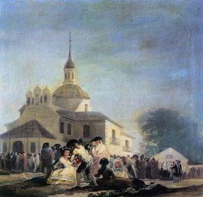 GOYA Francisco de Pilgrimage to the Church of San Isidro