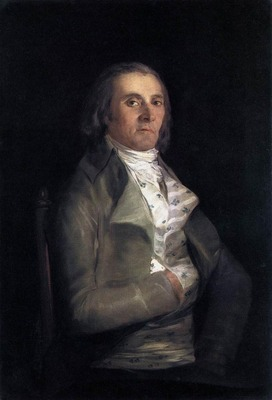 GOYA Francisco de Portrait of Andres del Peral