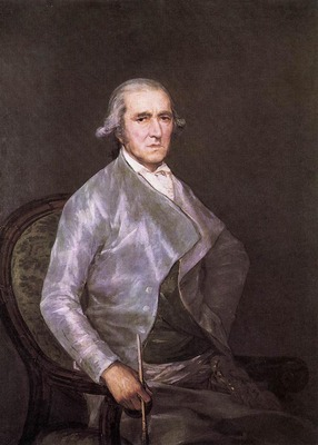 GOYA Francisco de Portrait of Francisco Bayeu