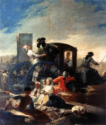 GOYA Francisco de The Crockery Vendor