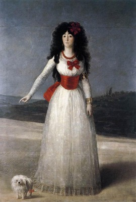 GOYA Francisco de The Duchess of Alba