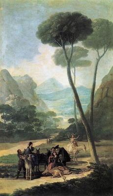 GOYA Francisco de The Fall La Caida