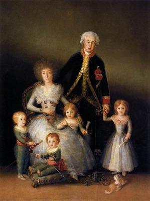 GOYA Francisco de The Family of the Duke of Osuna