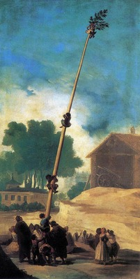 GOYA Francisco de The Greasy Pole La Cucana