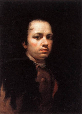 GOYA y Lucientes Francisco De Self Portrait