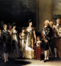 GOYA Francisco de Charles IV and his Family