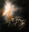 GOYA Francisco de Fire at Night