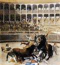 GOYA Francisco de Picador Caught by the Bull