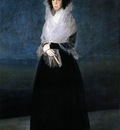 GOYA Francisco de The Marquesa de la Solana