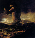 Goya Francisco The Colossus