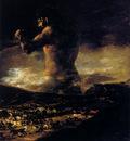 Goya Francisco The Colossus