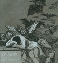 Goya The sleep of reason brings forth monsters
