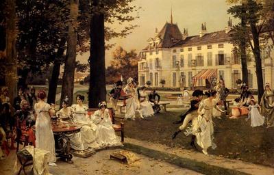 flameng francois reception at malmaison in