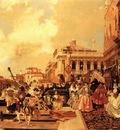 Flameng Francois Le Carneval A Venise