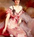 Flameng Francois Portrait De Mme D