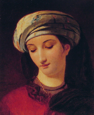 Portrait of A Woman with a Turban
