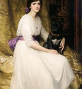 Dicksee Sir Francis Bernard Portrait of the Artist s Niece Dorothy