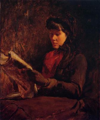 Duveneck Frank Girl Reading