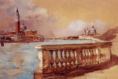 Duveneck Frank Grand Canal in Venice