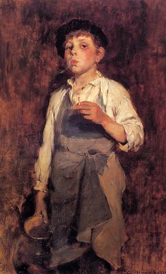 Duveneck Frank He Lives by His Wits