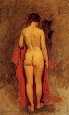 Duveneck Frank Nude Standing