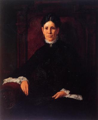 Duveneck Frank Portrait of Frances Schillinger Hinkle