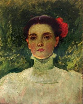 Duveneck Frank Portrait of Maggie Wilson