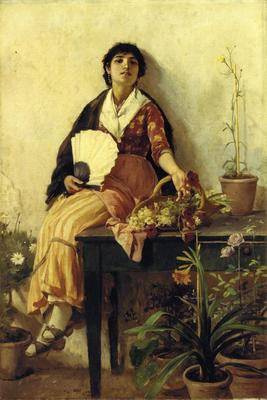 Duveneck Frank The Florentine Girl