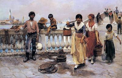 Duveneck Frank Water Carriers Venice