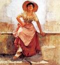 Duveneck Frank Florentine Flower Girl2