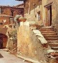 Duveneck Frank Italian Courtyard